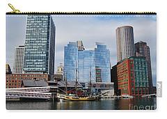 Boston Skyline I Carry-all Pouch by Barbara Bardzik