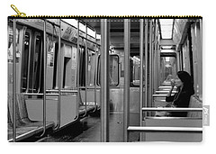 Boston Subway  Carry-all Pouch