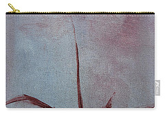 Carry-all Pouch featuring the painting Botanical Flowers by Jani Freimann