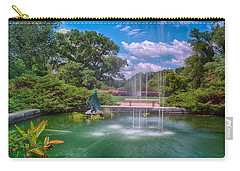 Botanical Garden Carry-all Pouch by Jonah  Anderson