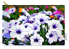 Carry-all Pouch featuring the photograph Botanical Medley by Deena Stoddard