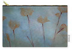 Carry-all Pouch featuring the painting Botanical Poppies by Jani Freimann