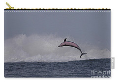 Bottlenose Dolphin Photo Carry-all Pouch by Meg Rousher