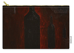 Carry-all Pouch featuring the painting Bottles by Shawn Marlow