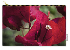 Carry-all Pouch featuring the photograph Bougainvillea by Steven Sparks
