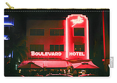 Boulevard Hotel Carry-all Pouch