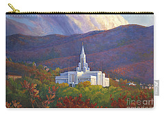 Bountiful Temple In The Mountains Carry-all Pouch
