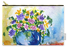 Bouquet Of Flowers In A Vase Carry-all Pouch