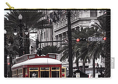 Bourbon And Canal Trolley Cropped Carry-all Pouch