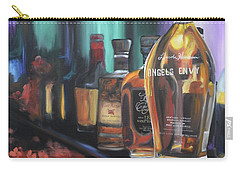Bourbon Bar Oil Painting Carry-all Pouch