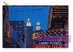 Bourbon Street And Cbd Lights  Carry-all Pouch