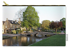 Bourton On The Water 2 Carry-all Pouch by Ron Harpham