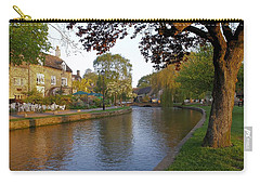 Bourton On The Water 3 Carry-all Pouch by Ron Harpham