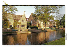 Bourton On The Water Carry-all Pouch by Ron Harpham