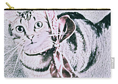 Bow Tie Kitty Carry-all Pouch