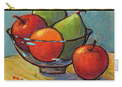 Bowl Of Fruit Carry-all Pouch