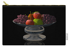 Bowl Of Fruit... Carry-all Pouch by Tim Fillingim