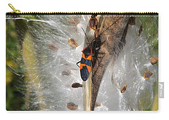 Boxelder On Butterfly Milkweed 2 Carry-all Pouch