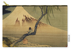 Boy Viewing Mount Fuji Carry-all Pouch
