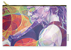 Boyd Tinsley And Circles Carry-all Pouch by Joshua Morton