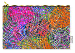Brain Waves Mixed Media Carry-All Pouches