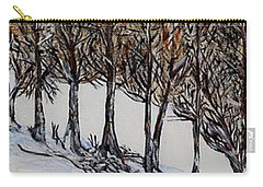 Carry-all Pouch featuring the painting Branch Broken by Marilyn  McNish