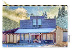 Carry-all Pouch featuring the photograph Brauer Real Estate Linwood Kansas by Liane Wright