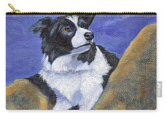 Carry-all Pouch featuring the painting Breagh Lass by Fran Brooks