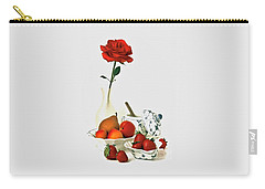 Breakfast For Lovers Carry-all Pouch by Elf Evans