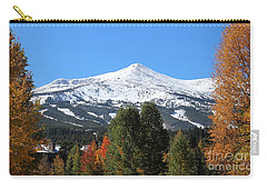 Breckenridge Colorado Carry-all Pouch by Fiona Kennard