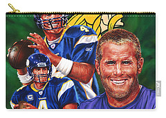 Bret Favre Carry-all Pouch