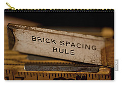 Brick Mason's Rule Carry-all Pouch