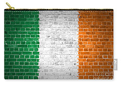 Brick Wall Ireland Carry-all Pouch by Antony McAulay