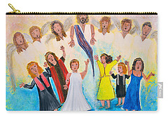 Bridal Invitation Carry-all Pouch by Cassie Sears