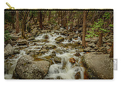 Bridalveil Creek In Yosemite Carry-all Pouch by Terry Garvin