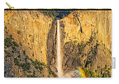 Bridalveil Falls Carry-all Pouch by Patricia Davidson