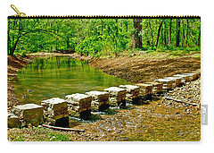 Bridge Across Colbert Creek At Mile 330 Of Natchez Trace Parkway-alabama Carry-all Pouch