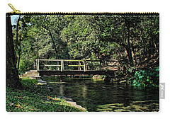 Bridge Of Serenity Carry-all Pouch by Judy Vincent