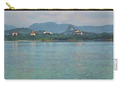 Bridge Of The Americas From Casco Viejo - Panama Carry-all Pouch