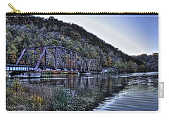 Bridge On A Lake Carry-all Pouch