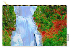 Bridge Over Beautiful Water Carry-all Pouch by Catherine Lott