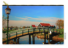Bridge Over Calm Waters Carry-all Pouch by Jonah  Anderson