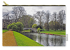 Bridge Over River Cam Carry-all Pouch