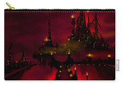 Bridge To Red Castle Carry-all Pouch
