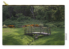 Bridge To Tranquility  Carry-all Pouch by Karen Silvestri