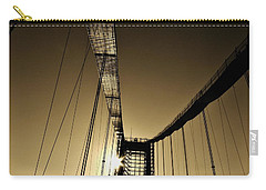 Bridge Work Carry-all Pouch by Robert Geary