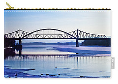 Bridges Over The Mississippi Carry-all Pouch