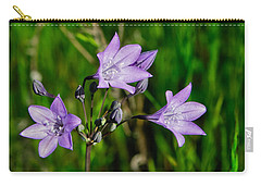 Carry-all Pouch featuring the photograph Bridges' Triteleia by Jim Thompson