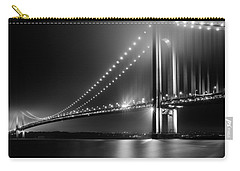 Bridging Verrazano Narrows Carry-all Pouch by Mihai Andritoiu