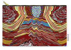 Bridge To Holy Grail Of Mystical Energies Whimisical Abstract By Navinjoshi At Fineartamerica.com  Carry-all Pouch